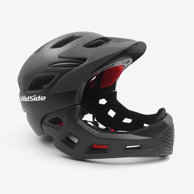 Cycling Helmet Fullface Off Road Vtt Trail Mountain Mtb Bike Helmet