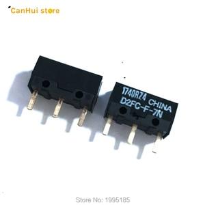 Image 2 - 5 PZ/LOTTO Nuovo Autentico OMRON interruttore Del Mouse Micro Interruttore D2FC F 7N Pulsante Del Mouse Sfregamento D2FC E 7N D2FC