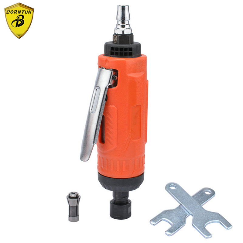 Borntun 3mm Soft Mini Pneumatic Air Die Grinder Micro Pneumatic Grinding 6mm Air Die Grinders High Speed 25000rpm Power Polisher air die grinder mag 094n air tools max free speed 23 500rpm