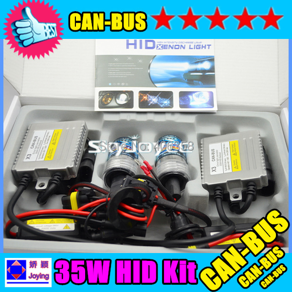 X3 35W hid canbus kit  H1 H3 H7 H8 H9 H11 9005 9006 xenon hid kit error free canbus hid kit sets canbus system headlight