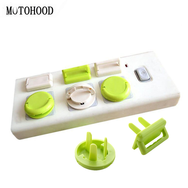 10PCS Child Safety Locks For Preventing The Child From Getting Hurt By Electric Shock Electric Child Lock Safety For Baby