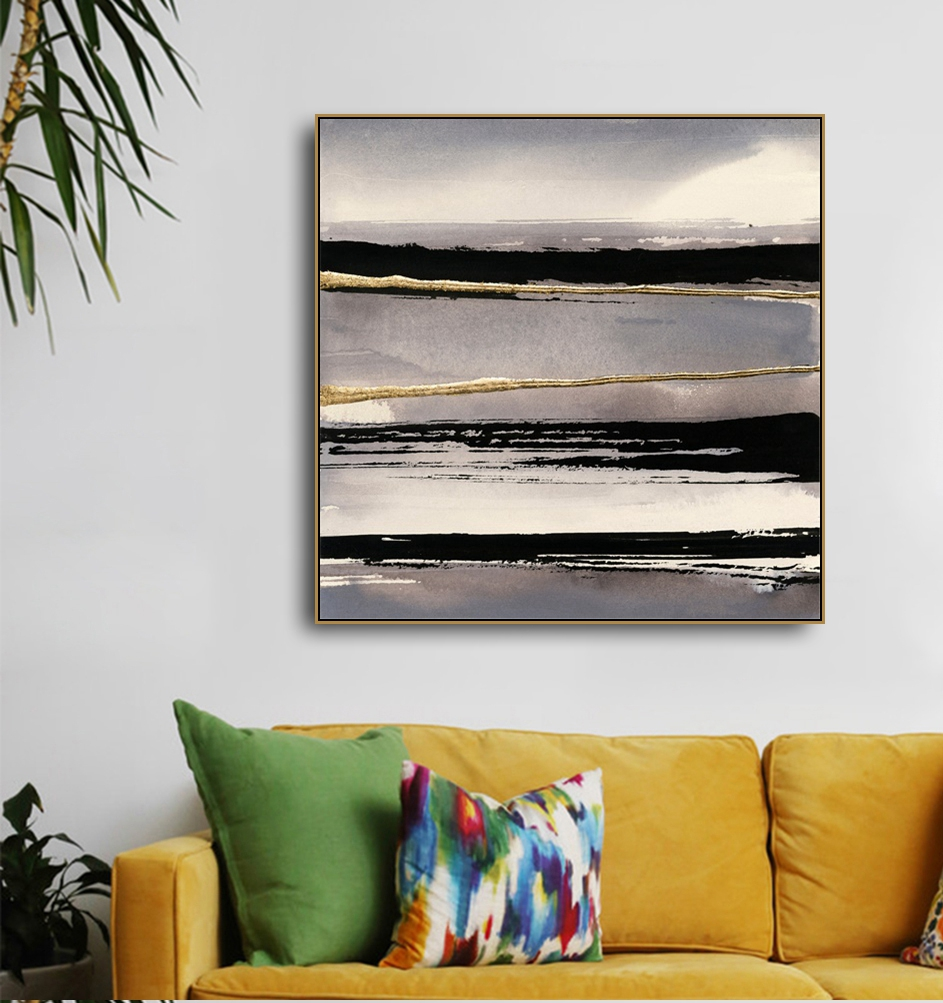 Simplicity Ink Paints Abstract Prints Calligraphy & Painting Decoration Picture For The House Living Room Bedroom Home Wall Art