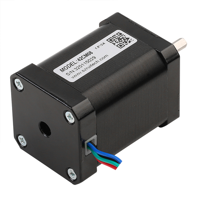 Rtelligent Name 17 Stepper motor 0.71N.M 60mm 3PCS Nema 17 Stepping motor with 30cm wire for 3D printer CNC machine