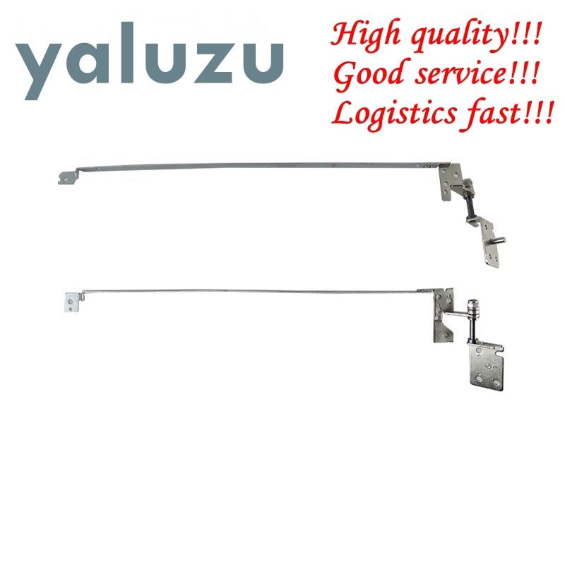 YALUZU Hot Selling! New For Lenovo B570 B575 B570E B575E V570 LCD Screen Right & Left Lcd Hinge Set Laptop Lcd Hinges Kit R+L