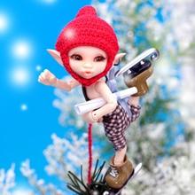OUENEIFS Féerie Realpuki Sira Kaka Ara 1/12 bjd sd poupées modèle reborn filles garçons yeux Haute Qualité toys boutique de maquillage résine