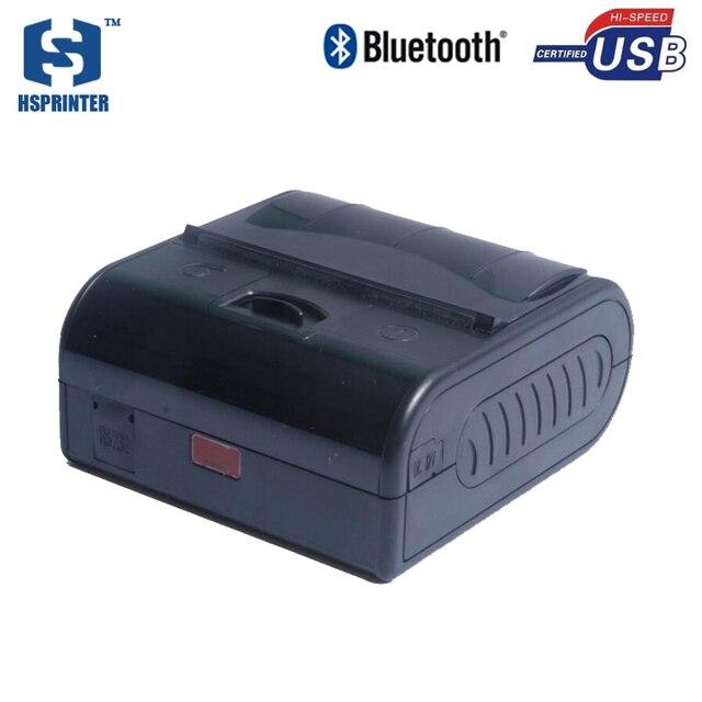 Качество impressora termica 80 мм портативный мини-принтер bluetooth android МПТ-3 usb порт rs232 водонепроницаемый тепловой чековый принтер