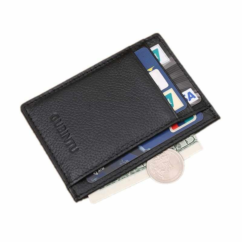 Тонкие мини-сумочки для монет для кредитных карт унисекс, мужские кошельки wo, мужская сумка, чехол для карт, дорожный кошелек, легко носить с собой