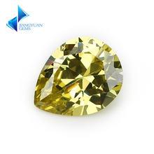 50 шт 2x3 ~ 13x18 мм грушевидной формы 5a оливковый cz камень