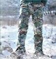 М2 Тактический Камуфляж Армии Брюки Мужчины Водонепроницаемый СВАТ Боевые Военные Брюки-Карго Охотник Поход Повседневные Брюки На Открытом Воздухе