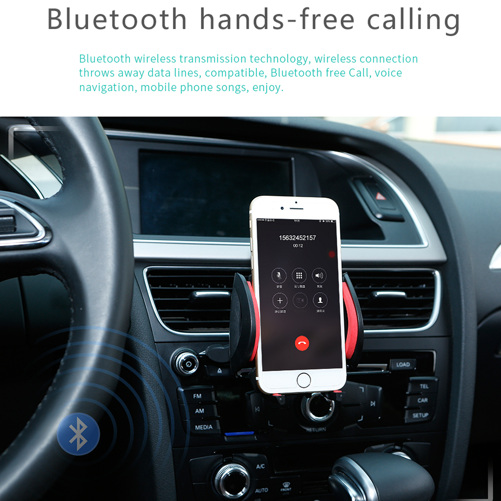 Image 5 - SWM M2 Car Stereo MP3 Music Player FM Music Radio Bluetooth 4.0 TF AUX Dual USB Charging Car charger for iOS/ Android Head Unit-in Car MP3 Players from Automobiles & Motorcycles