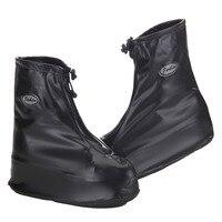 Waterproof Rain Shoes Cover Men Cycle Rain Boots Flat Slip Resistant Overshoes Rain Gear Shoes Protect