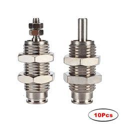 SMC Type CJPB cylindre à aiguilles   10 pièces, alésage de cylindre à aiguille 6mm/10mm/15mm, course 5/10/15/20/25/30mm cylindre à Action unique