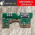 UMI ROMA Placa USB + Micrófono 100% Nuevo conector usb original tablero de carga reparación de Accesorios de reemplazo para UMI ROMA X Teléfono Móvil