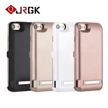 JRGK 10000mAh Rechargeable Backup Power Bank Battery Charge Cover Case For iPhone 6 6s 7plus External Charger 4.7&5.5 Phone Case