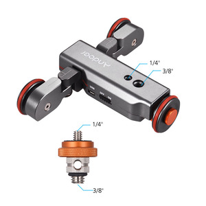 Image 5 - Andoer L4 Pro Gemotoriseerde Camera Video Dolly Elektrische Track Slider Draadloze Afstandsbediening Mini Slider Skater Voor Camera