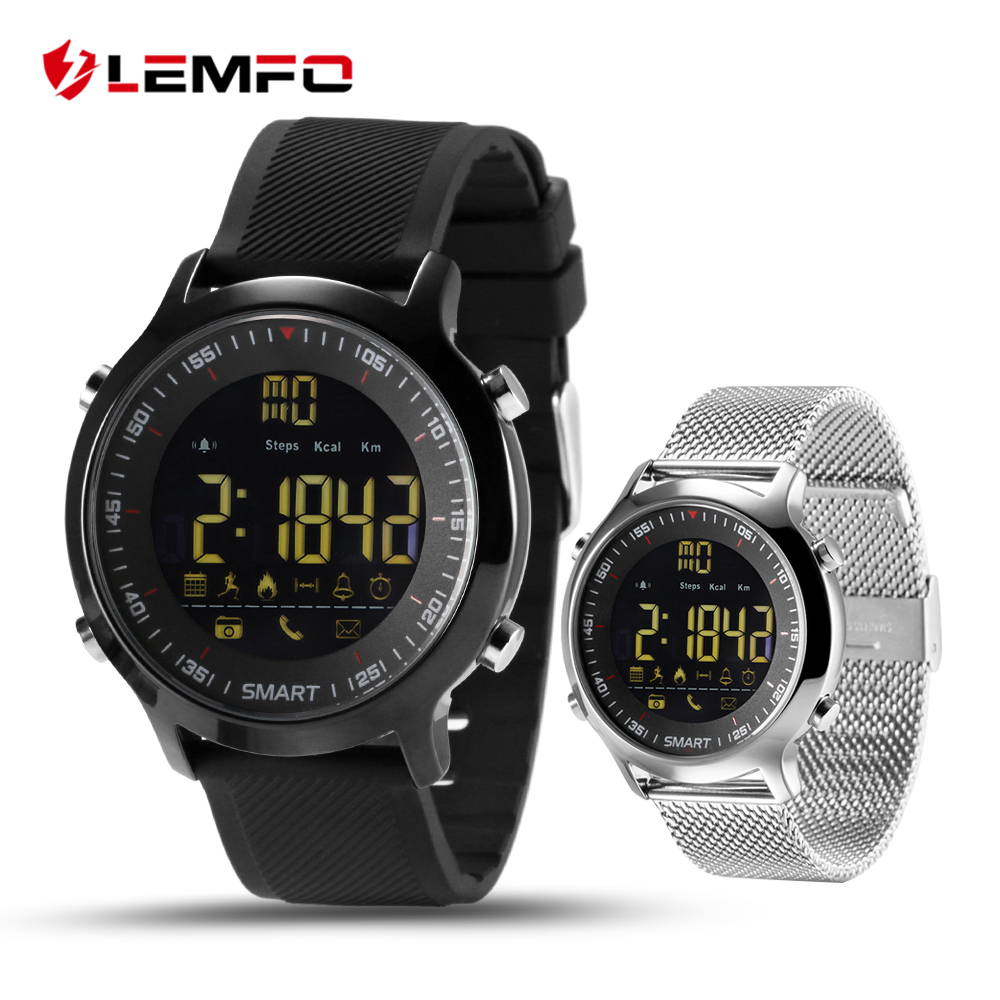 EX18 IP67 Waterproof Smart font b Watch b font Support Call and SMS alert Sports Activities