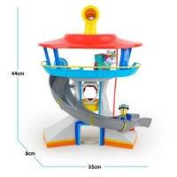 Hot Sale Paw Patrol Dog Car Action Figures Patrulla Canina Sound And Light Parking Lot Toy Set Kids Toys K59