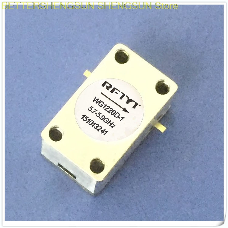 5.7-5.9GHz RF isolator circulator microstrip isolator 5.8G size <font><b>12x20</b></font> image
