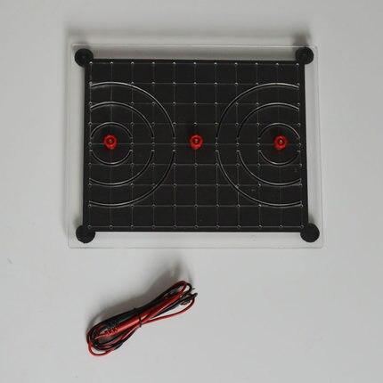 Affichage de coordonnées de fil de démonstration de potentiel électrique instrument d'enseignement de physique de lycée achats gratuits