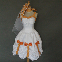 Anime Love live! Cosplay Costume Koizumi Hanayo Adult Women Fancy Dress Bridesmaid Dress Gown Rode Evening Dress Custom Made