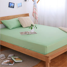 Multiple Sizes Mattress Protector 100% Cotton Japanese Style Simple Design Comfortable and Breathable Not Deformation Bed Cover(China)
