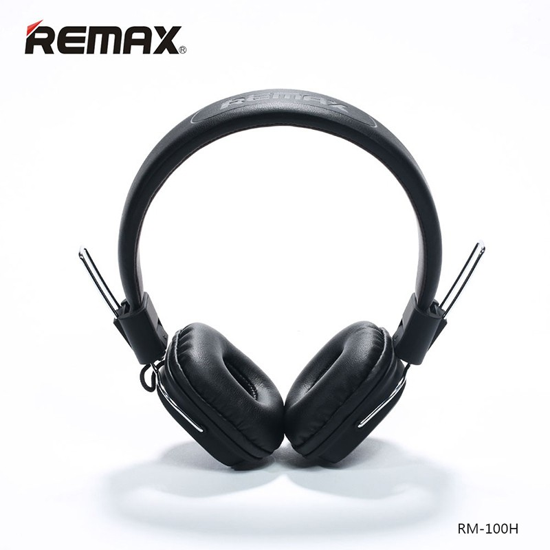 Remax Headphone Stereo Music Earphone With Mic Headset Headband HIFI Earphone Smart Noise Reduction 3.5MM Plug For Cellphones remax bluetooth 4 1 wireless headphones music earphone stereo foldable headset handsfree noise reduction for iphone 7 galaxy htc