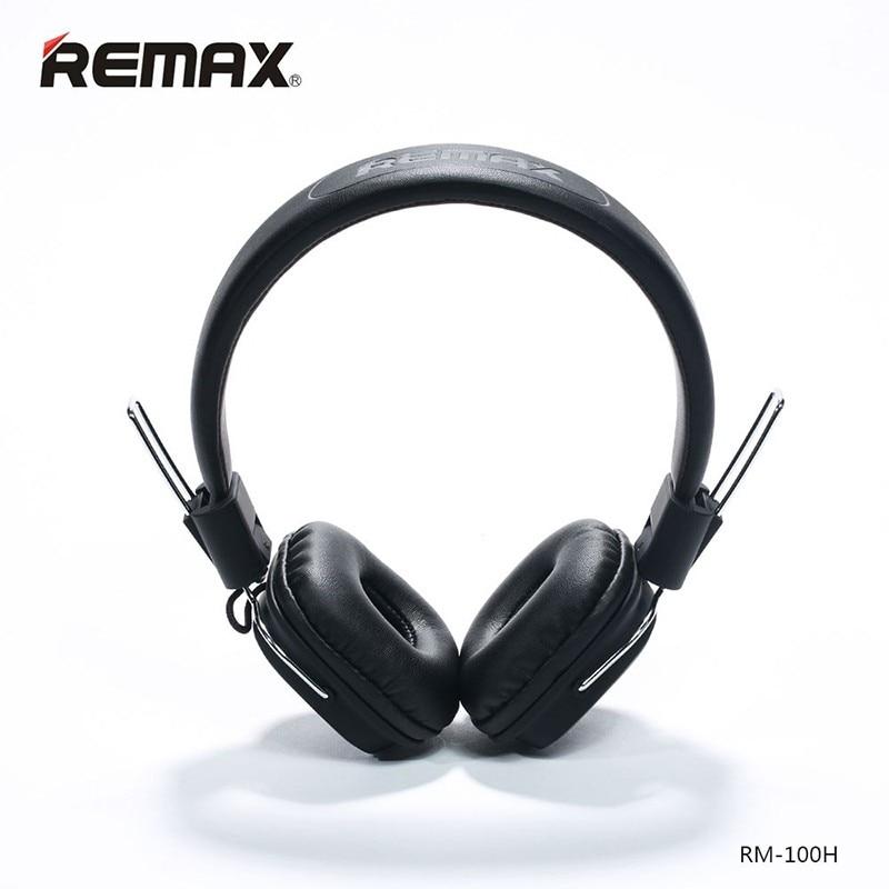 все цены на Remax Headphone Stereo Music Earphone With Mic Headset Headband HIFI Earphone Smart Noise Reduction 3.5MM Plug For Cellphones