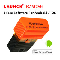 5pcs Lot LAUNCH X431 ICARSCAN For IOS Android With 8 Free Software Better Than Vpecker Easydiag