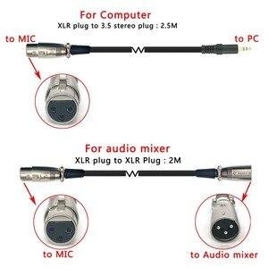 Image 5 - FREEBOSS BM 800 מקצועי הקבל מיקרופון עם 3.5mm שקע מתכת הלם הר Wired מיקרופון להקלטה מקהלה