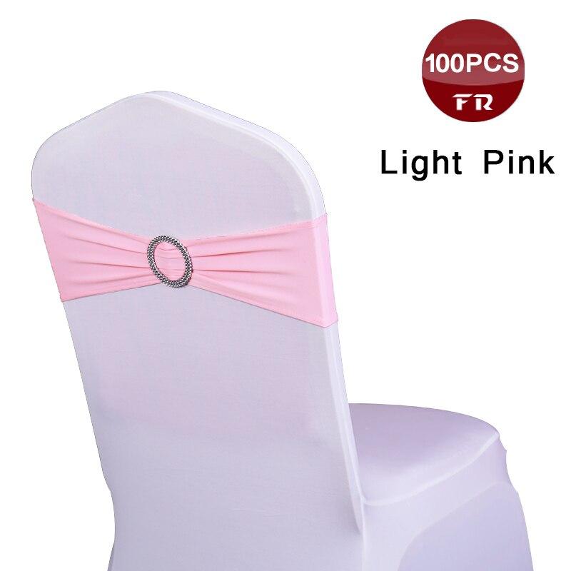 100 unids/lote Spandex silla fajas elástico boda silla MARCO bandas para banquete de boda Fiesta Hotel decoraciones-in Bandas from Hogar y Mascotas    1