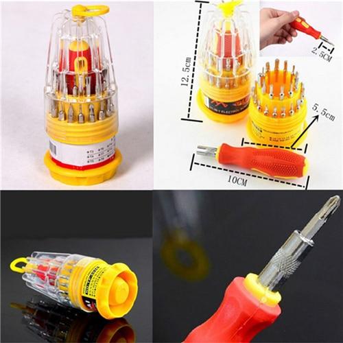 31 in 1 torx multitool screwdriver set mobile phone repair tool kit hand tools for iphone watch Tablet PC