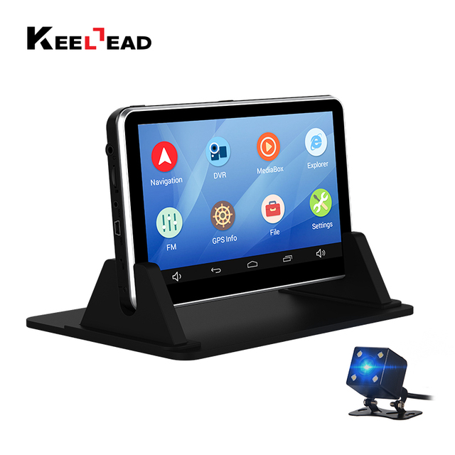 Keelead  Inch Car Dvr Android Gps Navigation Capacitive Mb Gb Bluetooth Wifi Russia Europe Map