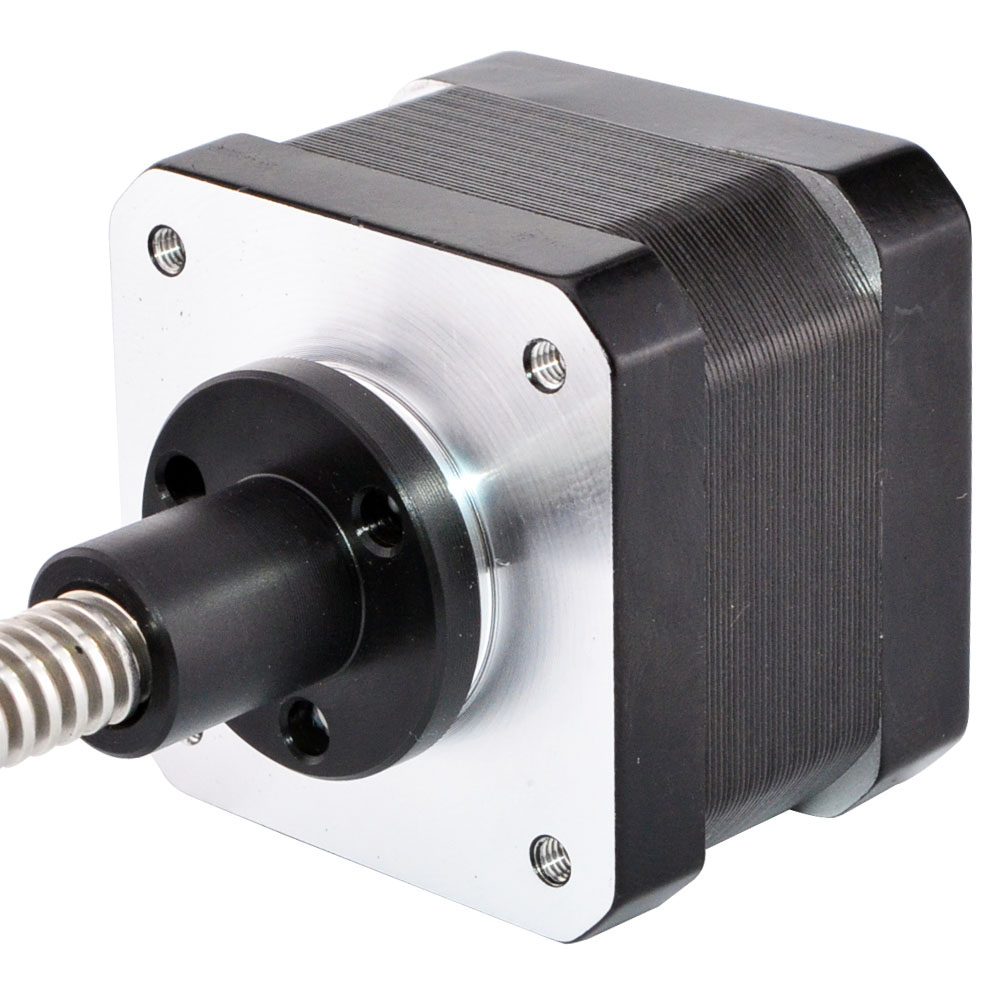200mm Length Nema 17 Linear Stepper Motor External Actuator Tr8 0.4A 26Ncm 4-lead for 3D Printer/ CNC RepRap200mm Length Nema 17 Linear Stepper Motor External Actuator Tr8 0.4A 26Ncm 4-lead for 3D Printer/ CNC RepRap