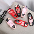 Mickey Mini Melissa Jelly Sandals 2017 Summer Children Sandals Mickey Minnie Crystal Princess Shoes Shoes Jelly Girls Shoes