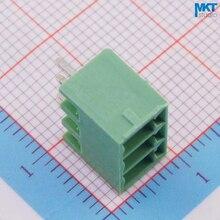 100 шт. 3 P 3,81 мм Шаг вертикальные прямые штырьковые штекерные перекрученное плетение клеммный блок разъем
