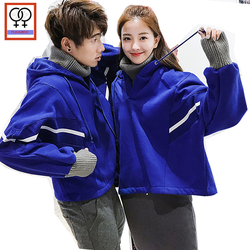 7b6f9861cc Autumn Winter Turtleneck Hoodies Sweatshirts Tops Casual Cute Preppy Style  Valentine s Gift Christmas Couple Hoodies Lovers