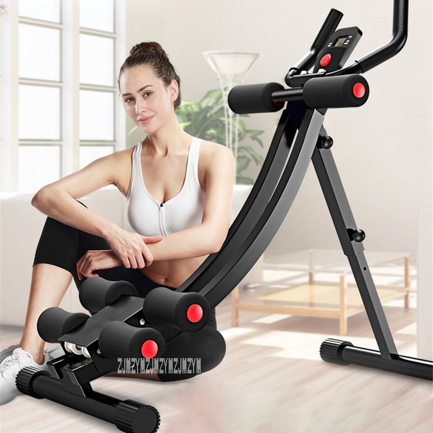 DDS-650 Household Small Handrail Exercise Abdominal Fitness Equipment  Vertical Abdomen Machine Waist Ab Roller Abdominal Train