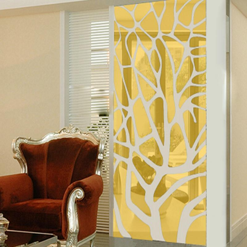 Large 3D Mirror Wall Stickers about Stereoscopic Geometry ...