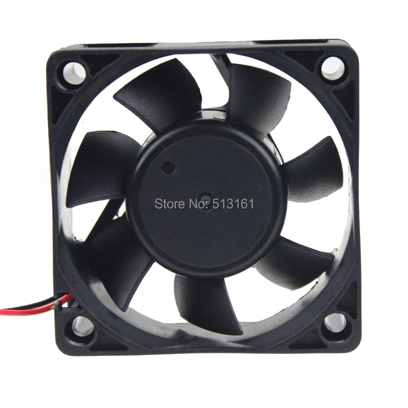 10pcs lot 60mm 25mm 24V 6025 2Pin DC PC Case Cooling Fan 6cm in Fans Cooling from Computer Office