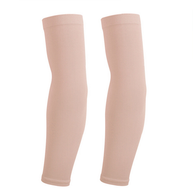 1 Pair Arm Sleeves For Sun UV Protection Summer Running Cycling Arm Warmer Basketball Golf Sports Bicycle Bike Arm Covers