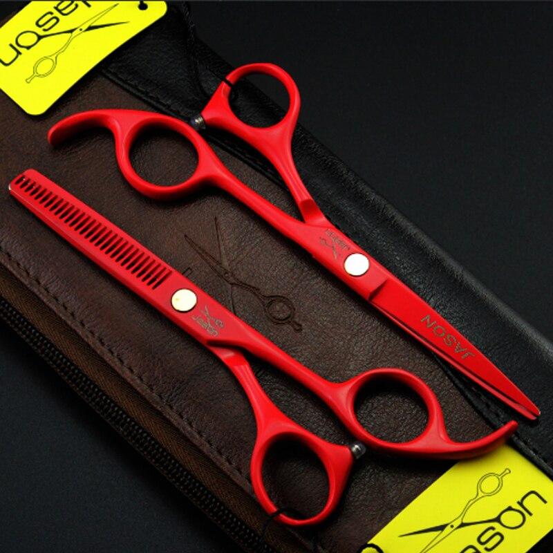 Gërshërë flokësh sallonësh me 4 ngjyra vendosin gërshërë - Kujdesi dhe stilimi i flokëve - Foto 2
