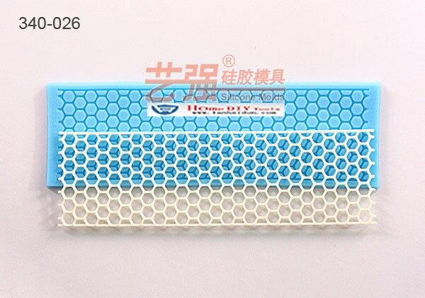 Mesh Honeycomb Fondant cake mold silicone sugar lace mould sugar mat decoration for wedding cake