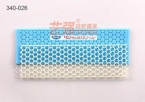 Mesh Honeycomb Fondant Cake Mold Silicone Sugar Lace Mould