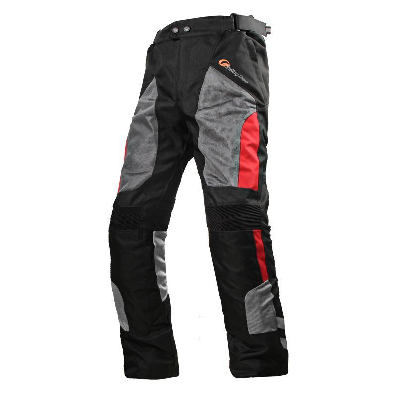 Motorcycle Pants Unisex Summer Moto Cycling Mesh Motorcross Pants Waterproof Breathable Racing Protective Pantalon Moto Parts