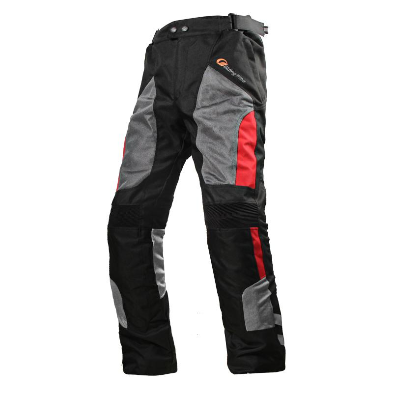 Motorcycle Pants Cycling Racing Waterproof Unisex Protective Mesh Summer Breathable title=