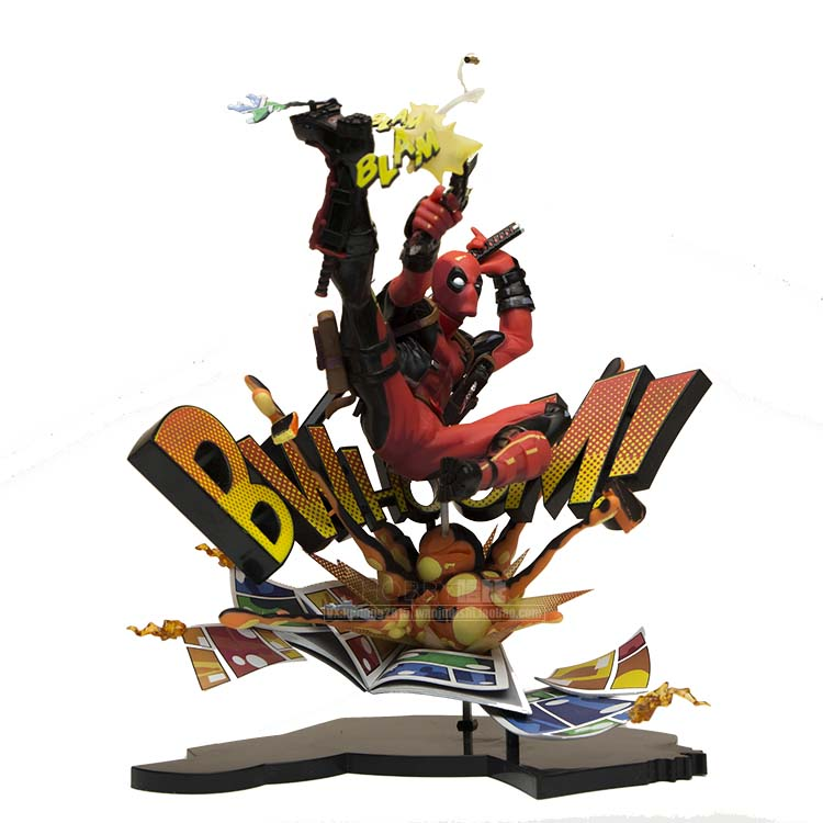 Marvel Deadpool Breaking The Fourth Wall Complete Figure Model Toy 20cm deadpool the complete collection volume 1