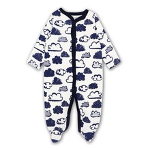Baby Clothing 2019 New Newborn jumpsuits Baby Boy Girl Romper Clothes Long Sleeve Infant Product baby girl romper newborn sleepsuit cartoon baby rompers 2019 infant baby clothes long sleeve newborn jumpsuits baby boy pajamas