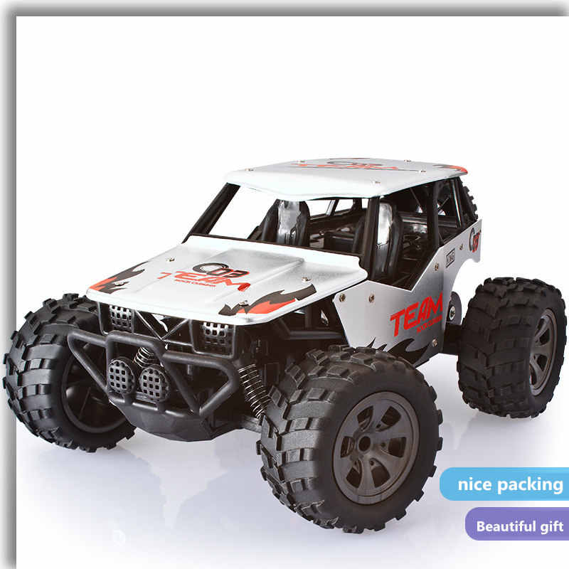 1/18 RC coche 4WD escalada coche 4x4 Doble motores Drive bigpie coche Control remoto modelo fuera de carretera vehículo Juguetes