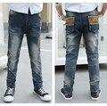 Niños Jeans de moda los pantalones vaqueros para niños, de alta calidad de Corea de los niños, pantalones del bebé pantalones de los muchachos, niños N905