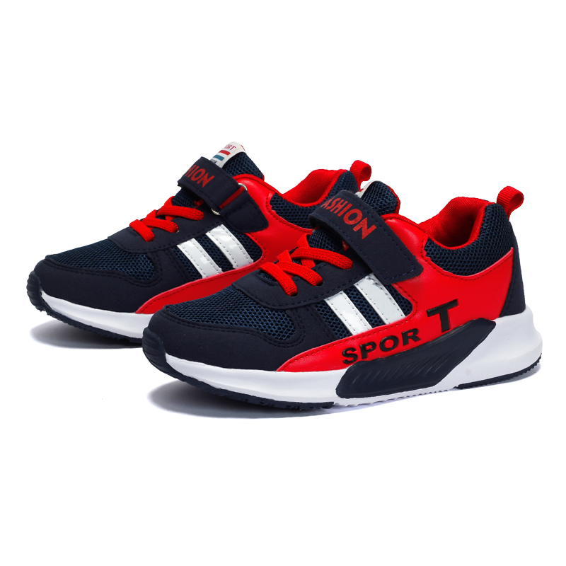 3 colours Children Shoes Boys Sport  Shoes  Outdoor Breathable Children Sneakers Boys Shoes 2017 new children led sport shoes breathable sneakers orthopedic unisex anti skid light shoes kids casual shoes for girls boys